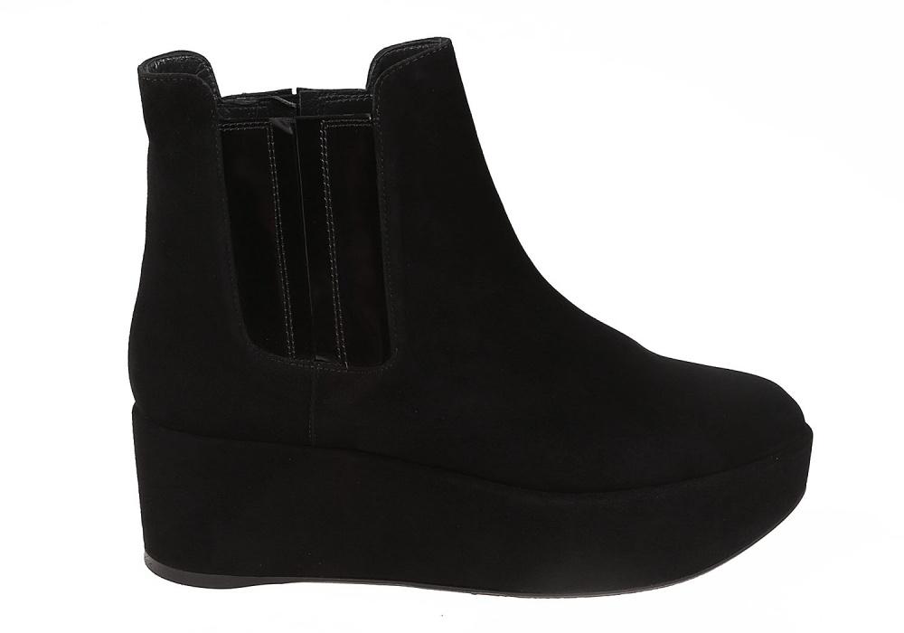 Ботинки Stuart Weitzman черный
