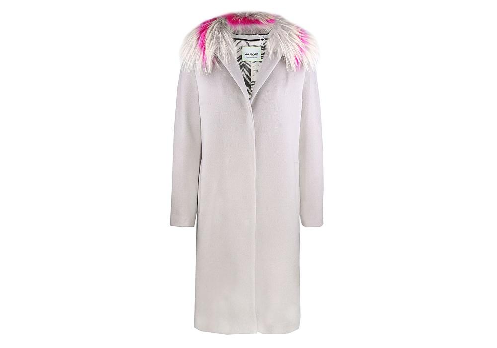 Пальто Ava Adore серый