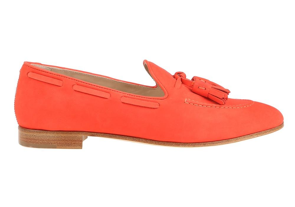 Лоферы Fratelli Rossetti оранжевый