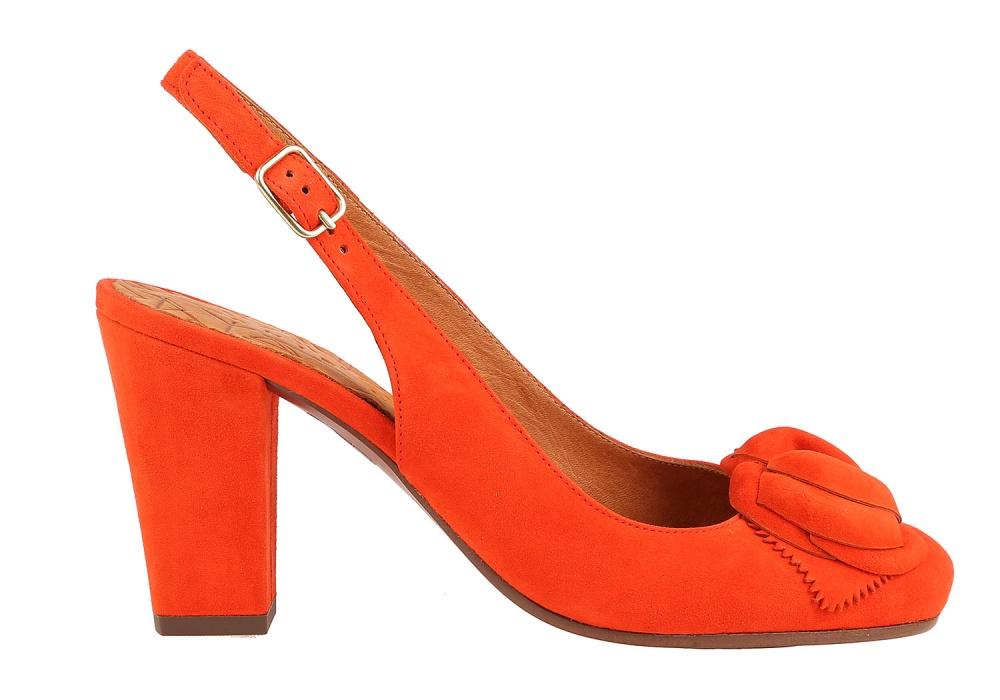 Босоножки Chie Mihara оранжевый