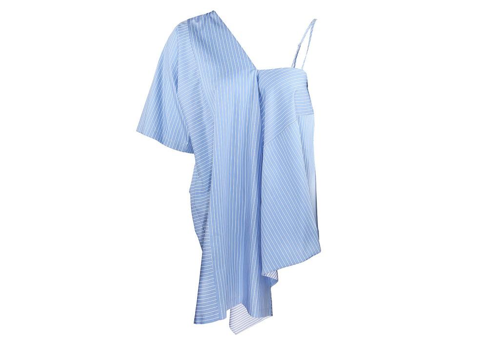 Платья Maison Margiela голубой