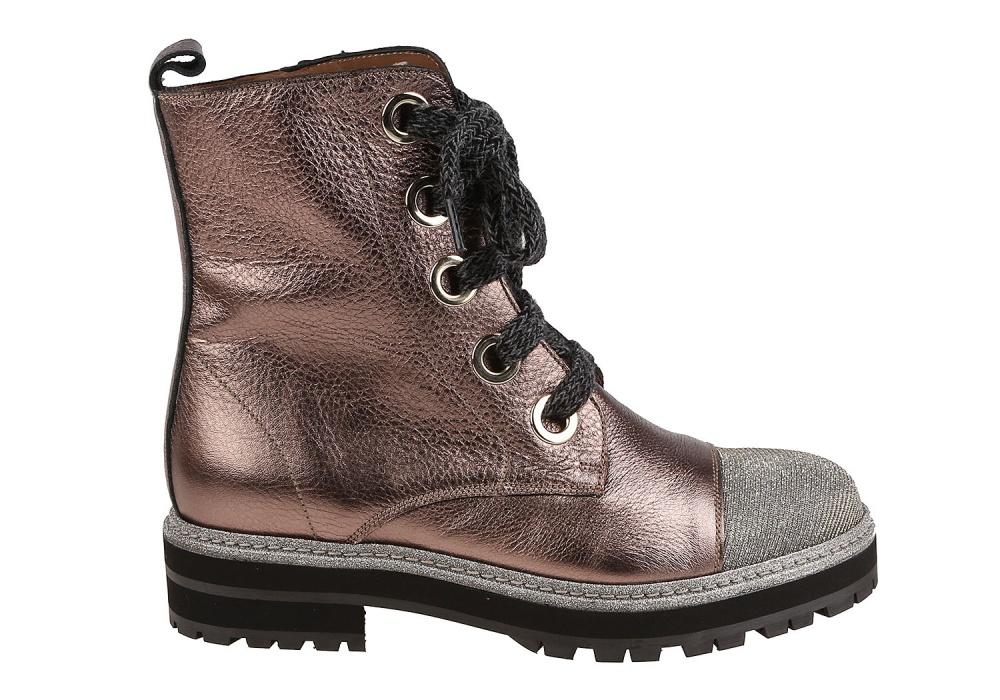 Ботинки Pertini Бронзовый