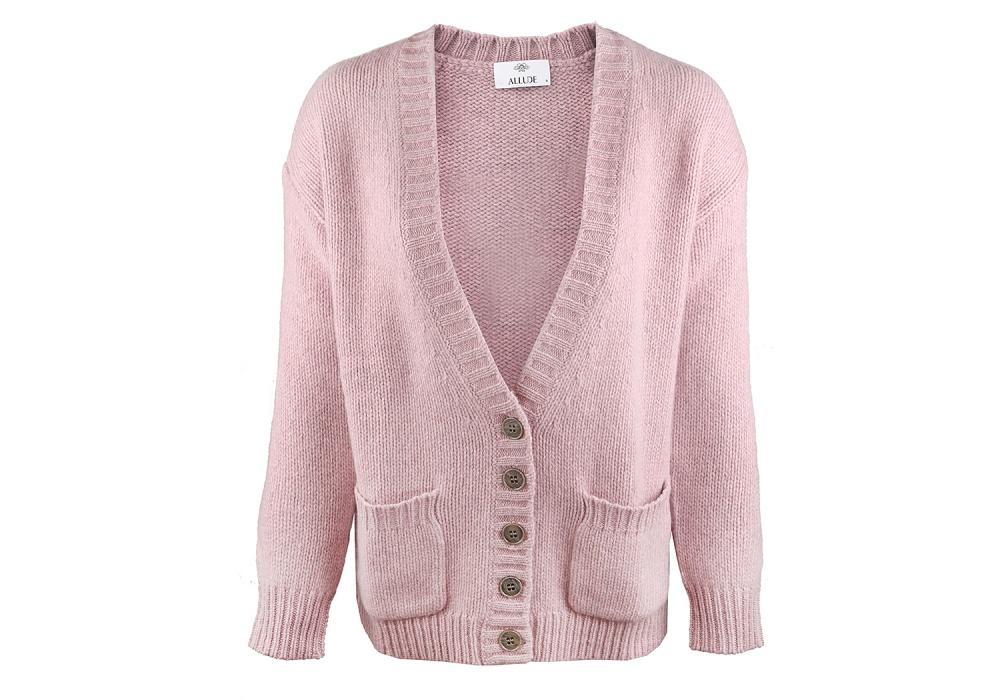 Кардиганы Allude розовый