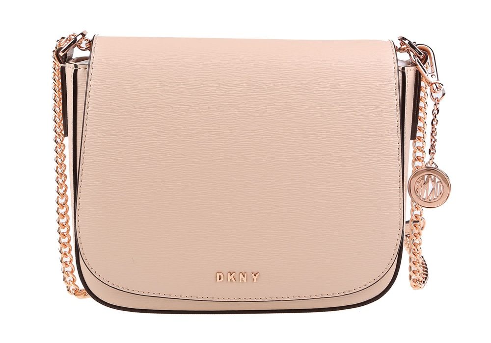 crossbody bag DKNY розовый