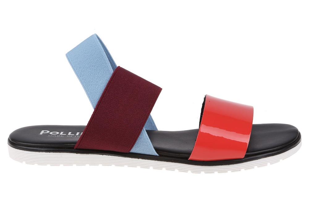 Сандалии Pollini разноцветный