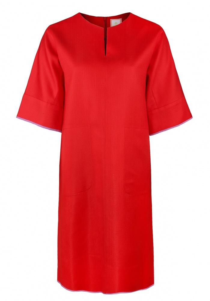 Платья The Dress красный