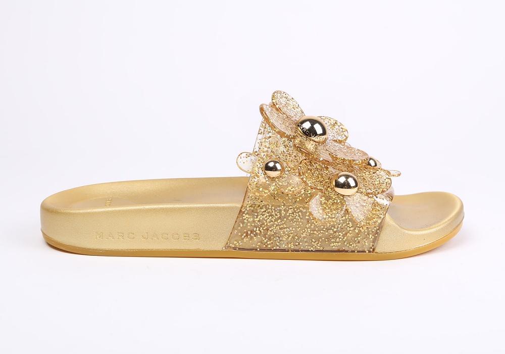 пантолеты Marc Jacobs золотой